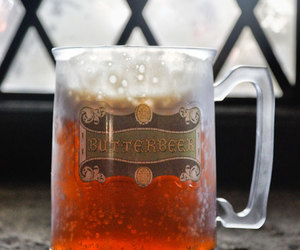 harry potter, beer, and drink image
