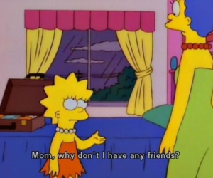 mom, quote, and simpsons image