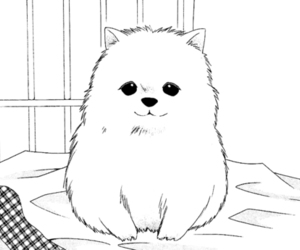 manga, cute, and dog image