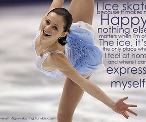 figure skating, ice skating, and quotes image