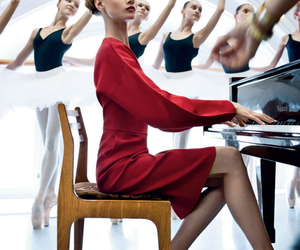 ballet, dance, and piano image