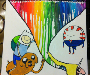 art, adventure time, and colors image