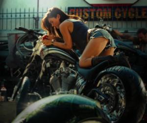 megan fox, sexy, and bike image
