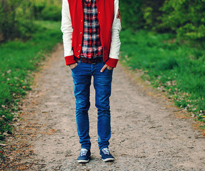 boy and jeans image