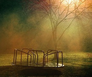 childhood, empty, and playground image