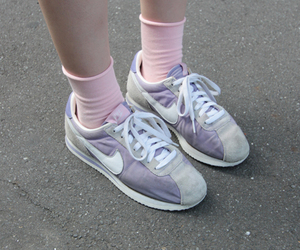 nike, sneakers, and pastel image