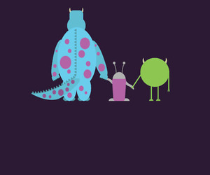 disney, monsters inc, and pixar image