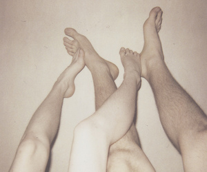couple, intimacy, and foot image