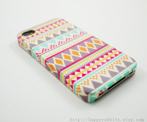 case, iphone, and aztec image