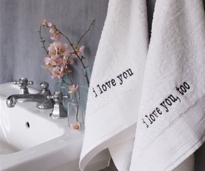 towels and love image