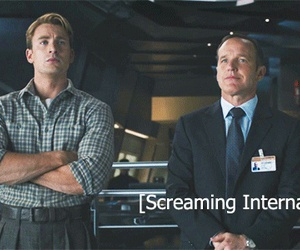 captain america, phil coulson, and the avengers image