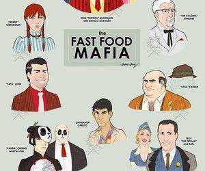 mafia, fast food, and funny image