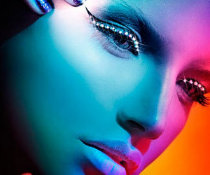 beauty, colors, and editorial image