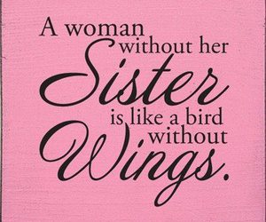 sisters, wings, and woman image