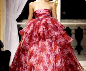 dress, pink, and Giambattista Valli image