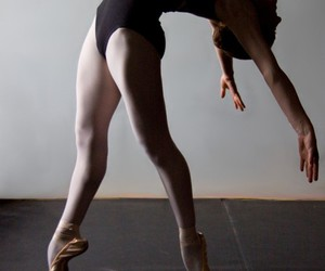 arch, back, and ballet image