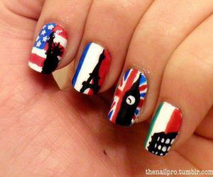 nails, italy, and london image