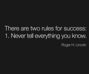 quote, rules, and success image