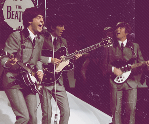 the beatles, Paul McCartney, and george harrison image