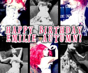 Emilie Autumn, singer, and violinist image