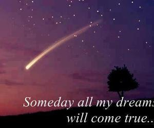 Dream, stars, and someday image