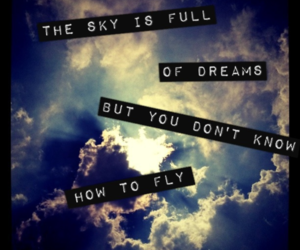 beautiful, fly, and text image