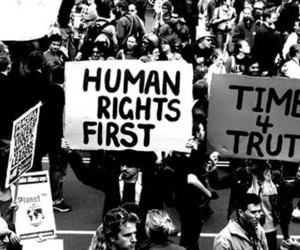 Right, human, and human rights image