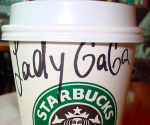 Lady gaga, starbucks, and gaga image