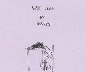 ideas, terrible, and drawing image