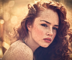 beautiful, female, and ginger image