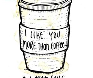coffee, quotes, and like image
