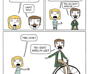 funny, lol, and moustache image