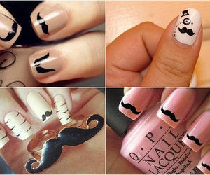 beautiful, design, and nail image