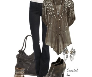chic, combinations, and fashion image