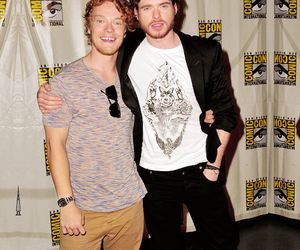 comic con, game of thrones, and richard madden image