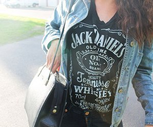 fashion, jack daniels, and style image