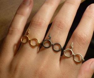 harry potter, rings, and ring image