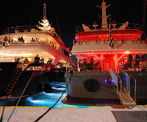 luxury, yacht, and party image