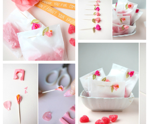 candy, diy, and flowers image
