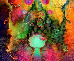 color, liquid, and lsd image