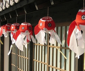 fish, japan, and red image