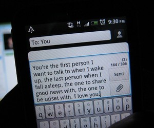 love, text, and you image