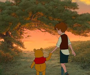 winnie the pooh, friendship, and pooh image