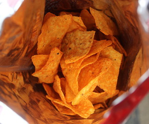 food, chips, and yum image