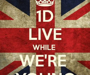 young, one direction, and love image