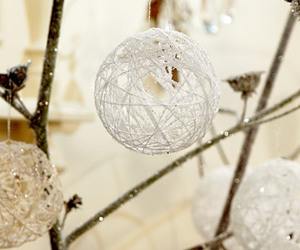 balls, knotted, and christmas image