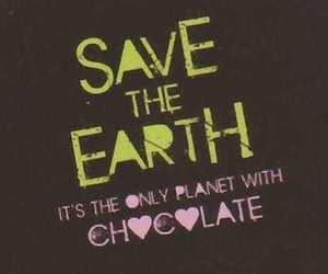 chocolate, earth, and funny image