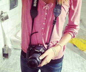 brownie, canon, and girl image