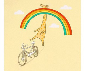 animal, bicycle, and bike image