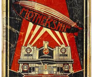 led zeppelin, music, and mothership image